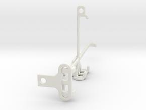 Oppo Find X3 Pro tripod & stabilizer mount in White Natural Versatile Plastic