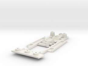 Chassis for Scalextric 1969 Camaro Z28 in White Natural Versatile Plastic