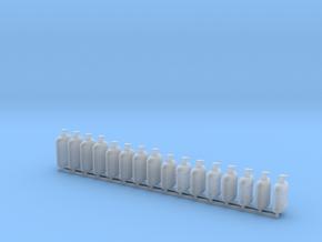 1:12 Soap Pump Bottles 16pc v1 in Smooth Fine Detail Plastic