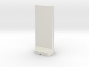 Concrete T-Wall 1/35 in White Natural Versatile Plastic