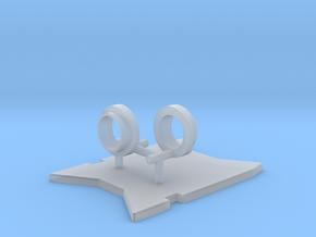 R956 Fahrwerk Kleinteile in Smooth Fine Detail Plastic