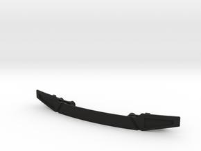 Losi Baja Rey Frontlippe in Black Natural Versatile Plastic