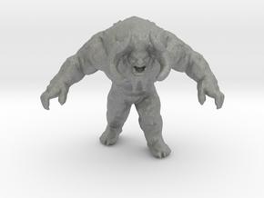 Yeti miniature model fantasy games rpg dnd winter in Gray PA12