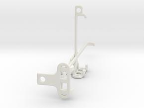 Motorola Moto G40 Fusion tripod & stabilizer mount in White Natural Versatile Plastic