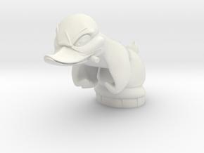custom duck 2 1/10 in White Natural Versatile Plastic