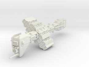 Omega Class Destroyer in White Natural Versatile Plastic
