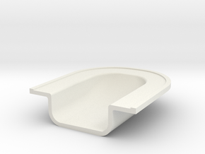 Boat Part in White Natural Versatile Plastic