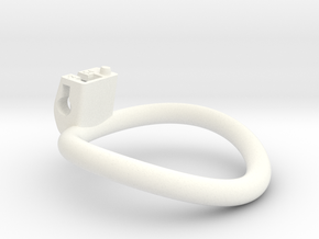 Cherry Keeper Ring G2 - 54mm -2° in White Processed Versatile Plastic