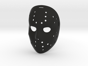Jason Okey Mask in Black Natural Versatile Plastic
