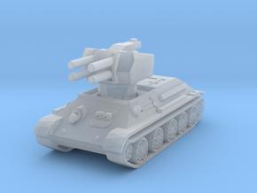 T-34 Flakpanzer 1/285 in Smooth Fine Detail Plastic