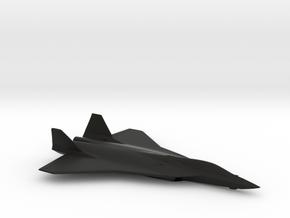 Airbus FCAS Next Generation Fighter Concept in Black Natural Versatile Plastic: 1:144