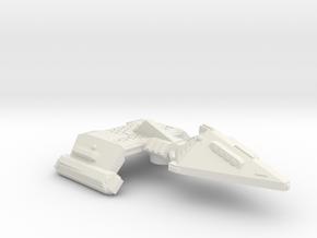 3788 Scale Neo-Tholian X-Ship Heavy Frigate (NHFX) in White Natural Versatile Plastic