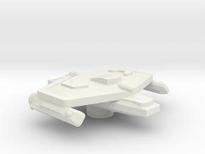 3788 Scale Eneen Corvette (CT) CVN in White Natural Versatile Plastic