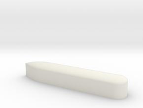 Test Shell in White Natural Versatile Plastic