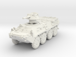 MG144-R21 BTR-80 in White Natural Versatile Plastic