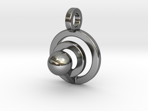 Sphere1_C in Fine Detail Polished Silver