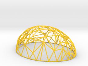 Wired Lemon in Yellow Processed Versatile Plastic