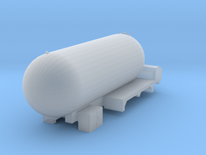 HO scale Propane Truck double axle in Smooth Fine Detail Plastic