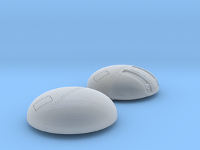 Top turret and lower auxiliary fuel tank in Smoothest Fine Detail Plastic