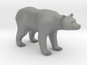 Plastic Brown Bear v2 1:48-O in Gray PA12