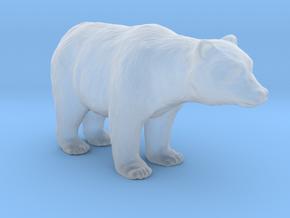 Plastic American Black Bear v1 1:160-N in Smooth Fine Detail Plastic