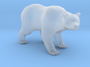 Plastic Brown Bear v3 1:160-N in Smooth Fine Detail Plastic