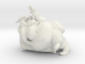 Lounge Dragon in White Natural Versatile Plastic