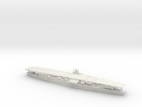 IJN CV Akagi [1941] in White Natural Versatile Plastic: 1:1200