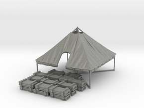 1/72 WWII US M1934 Tent with rolled up sides in Gray PA12