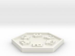 SKS-Chass-VillageTile in White Natural Versatile Plastic