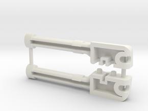 T-Bone-5a in White Natural Versatile Plastic
