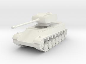 44M TAS (Long turret) 1/144 in White Natural Versatile Plastic
