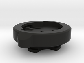 Wahoo Elemnt to Lezyne GPS Adaptor in Black Natural Versatile Plastic