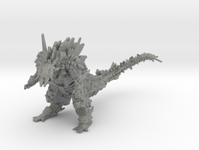 Mechagodzilla Anime 75mm miniature model games rpg in Gray PA12