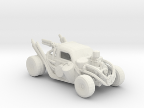 FR. FDK Bug Convoy Chaser. 1:160 scale. in White Natural Versatile Plastic