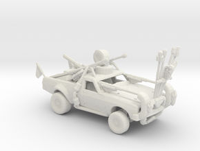 FR. Holden Firecar Ute. 1:160 Scale. in White Natural Versatile Plastic