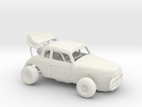 FR. Lysdexia Gigglehorse Convoy Chaser. 1:160 in White Natural Versatile Plastic
