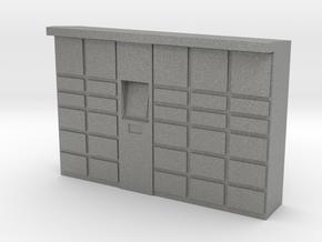 Parcel Locker 1/43 in Gray PA12