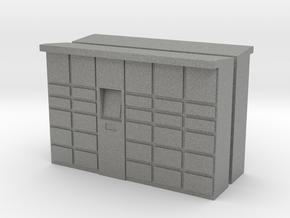 Parcel Locker (x2) 1/120 in Gray PA12