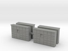 Parcel Locker (x4) 1/160 in Gray PA12