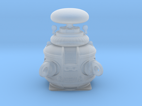 Lost in Space - 1.24 - Robot - Top in Smooth Fine Detail Plastic