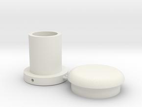 Battle Brick Saber Blade kit V2-T2 (Thickness 2mm) in White Natural Versatile Plastic