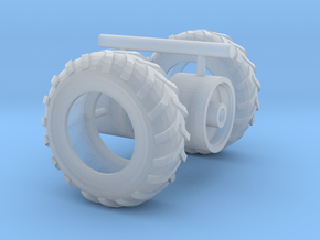 1/87th Unverferth ProForce 1850 Hopper tires in Smooth Fine Detail Plastic