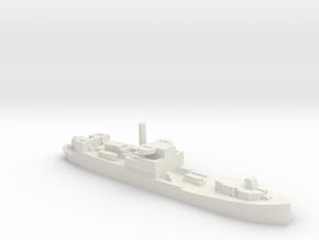 German Sperrbrecher 102 WW2 1:1250 VersPla in White Natural Versatile Plastic