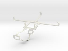 Controller mount for Xbox One & vivo iQOO Z3 in White Natural Versatile Plastic