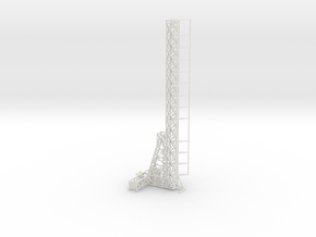 1/144 Natter launch tower in White Natural Versatile Plastic