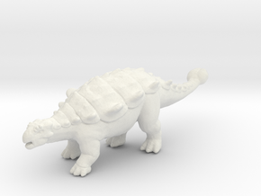 Chrichtonsaurus dinosaur miniature fantasy games in White Natural Versatile Plastic