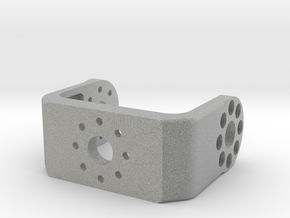 3D printed bracket for the Dynamixel MX-28 servo  in Metallic Plastic