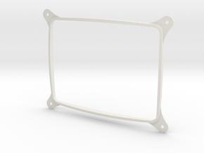 CRT2LCD in White Natural Versatile Plastic