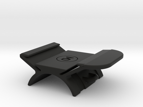 Horizontal handlebar mount for GoPro The Remote  in Black Natural Versatile Plastic
